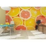 Murales naranjas y limones