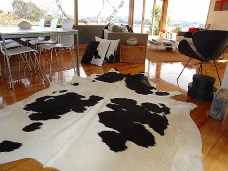 Alfombra vaca
